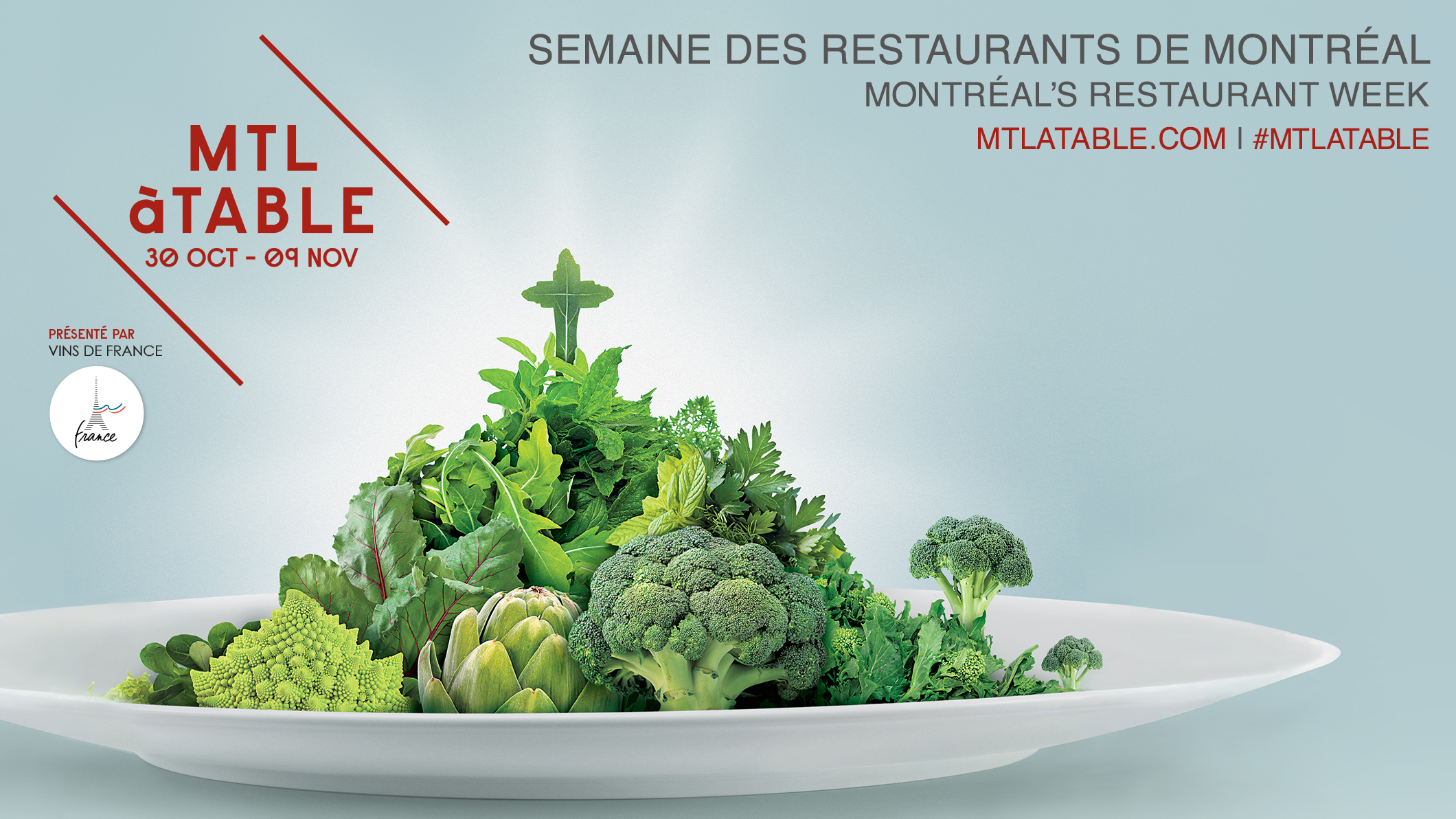 WE ARE OFFERING FREE DINNERS DURING MTL À TABLE