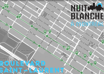 2016 NUIT BLANCHE ON THE BOULEVARD