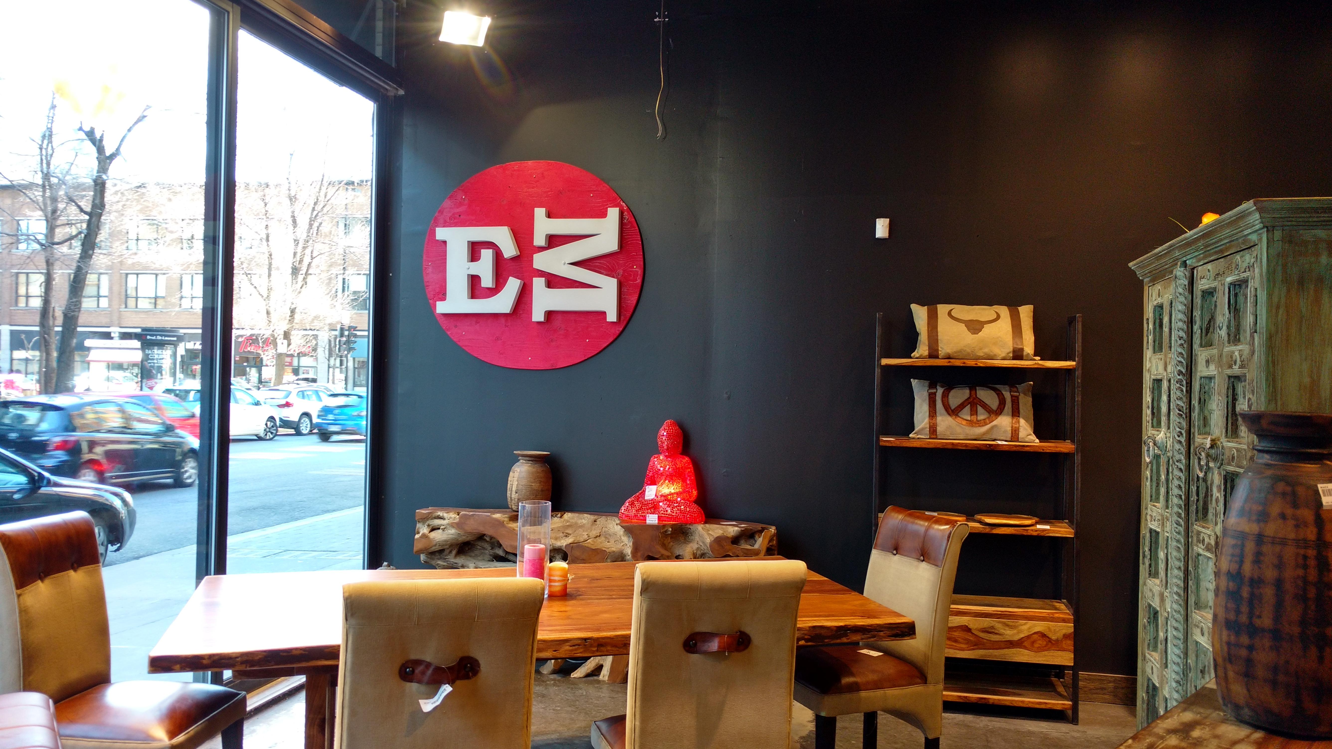 Exotik mobilier sdbsl boulevard saint laurent for O miroir montreal
