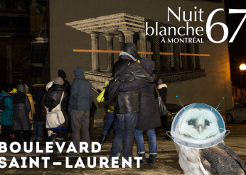 NUIT BLANCHE 2017 ON THE BOULEVARD