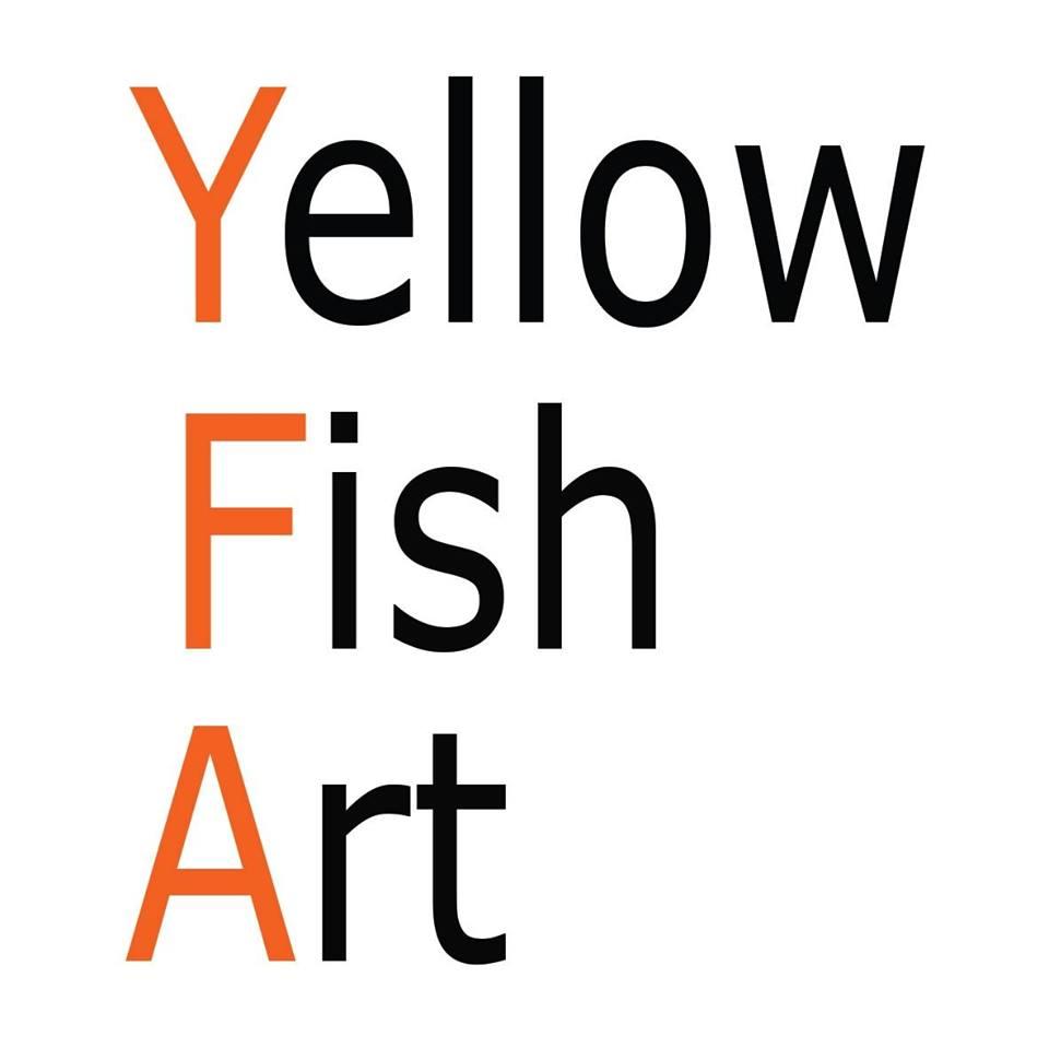 YELLOW FISH ART