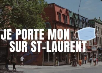 Where to get reusable face covering on Saint-Laurent boulevard?